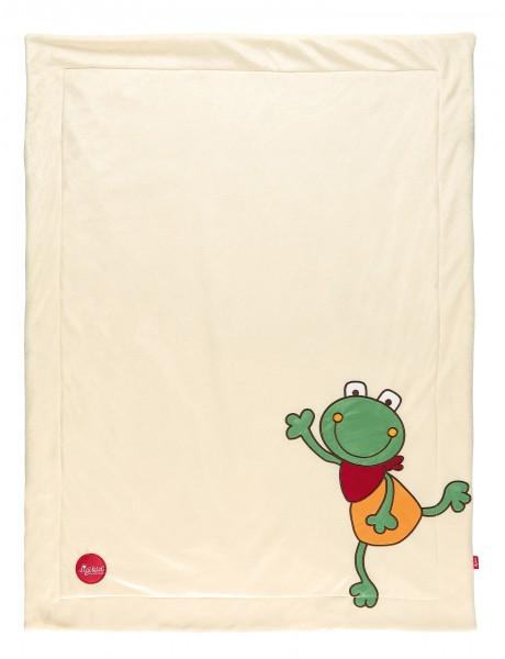 Babydecke Folunder Frog