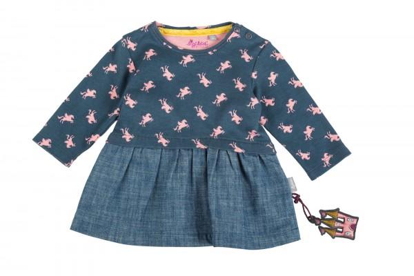 Babykleid im Materialmix