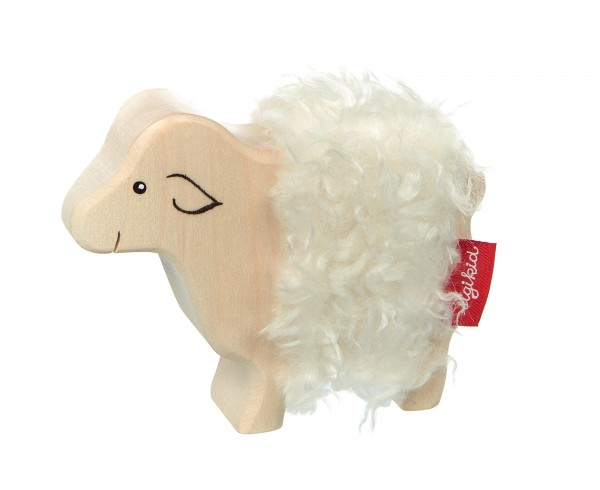 Holztier Schaf