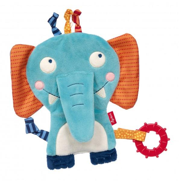 Baby Aktiv-Schnuffeltuch Elefant