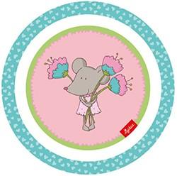 Kinder Teller mit Maus - Auslaufmodell