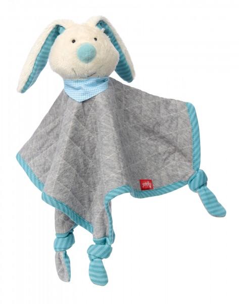 Schnuffeltuch Hase blau, Urban Baby