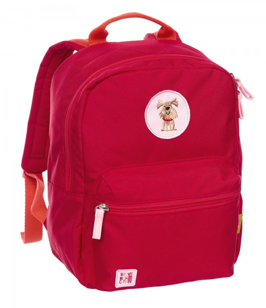 Kinder Rucksack rot, Green Collection