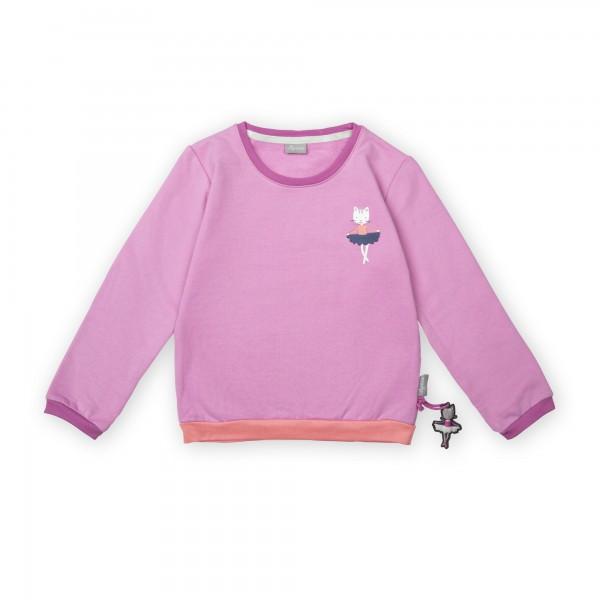Mädchen Sweatshirt Ballerina Mouse