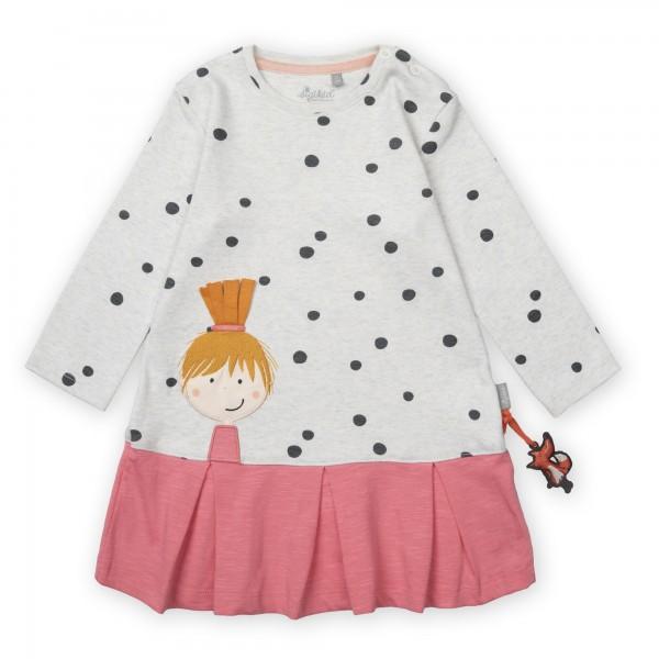 Baby-Tupfenkleid mit Faltenrock
