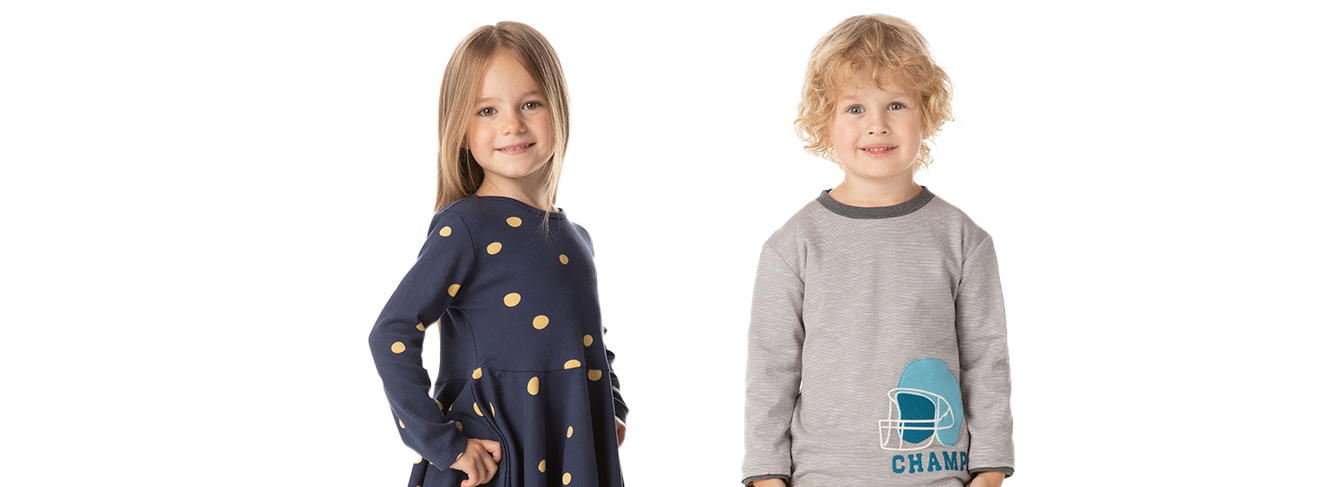Children's Fashion from 0 to 8 years