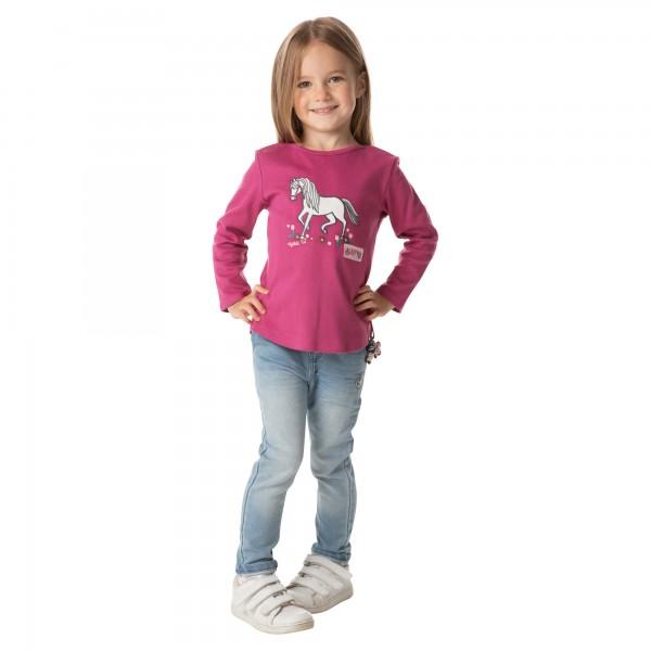 Kuscheliges Mädchen Langarmshirt