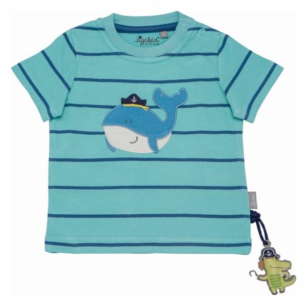 Baby Motivshirt in Hellblau