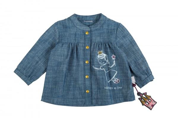 Baby Jeansbluse mit Märchenfee-Motiv