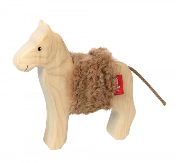 Holztier Pferd