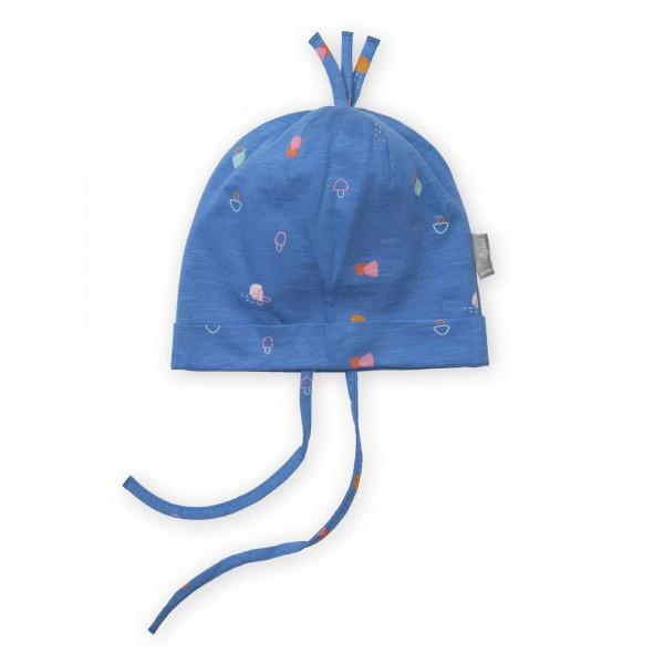 Weiche Mütze in Lagunenblau, Baby