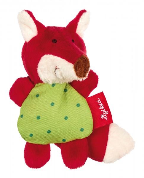 Baby Rassel Fuchs Red Stars