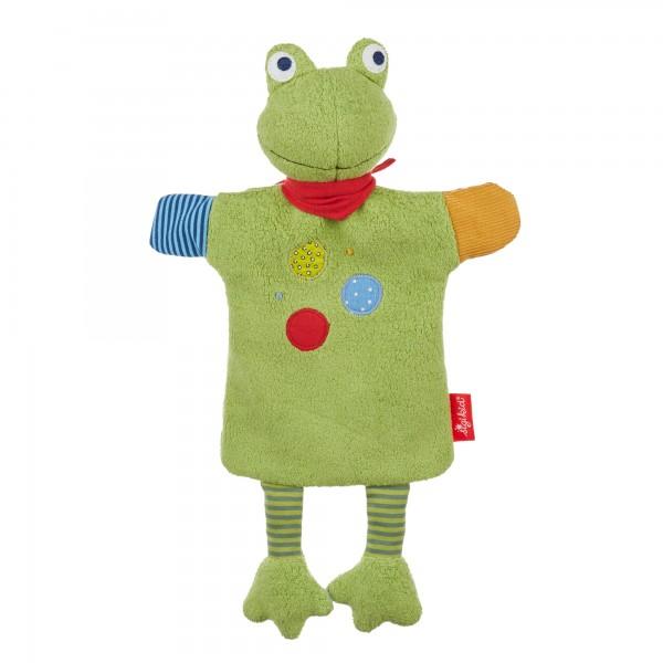 Handpuppe Flecken Frog