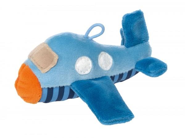 Baby Rassel Flugzeug, Red Stars