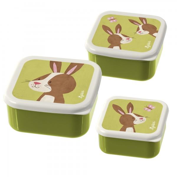 Snackboxen Hase 3er-Set