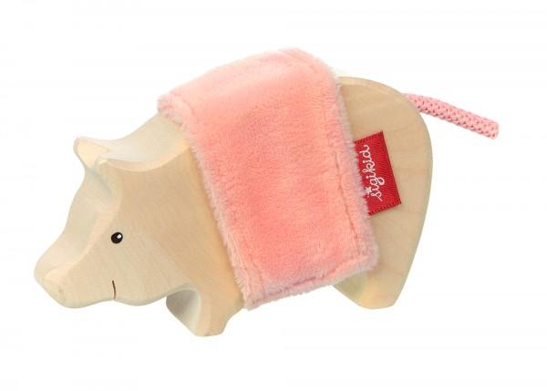 Holztier Schwein