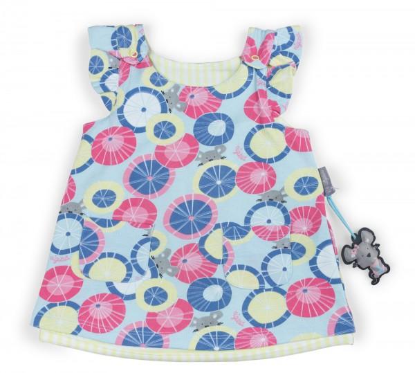 Farbenfrohes Babykleid zum Wenden