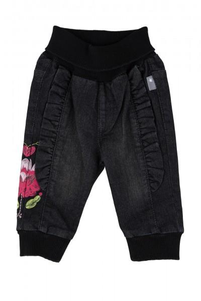 Baby Jeans mit Rüschen