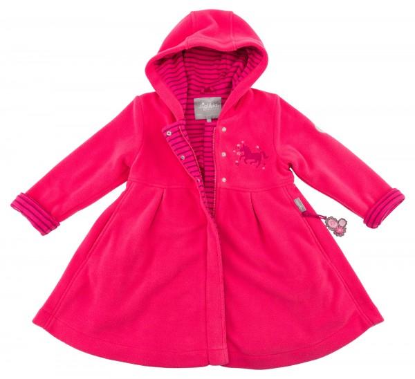Mädchen Fleecemantel in Pink