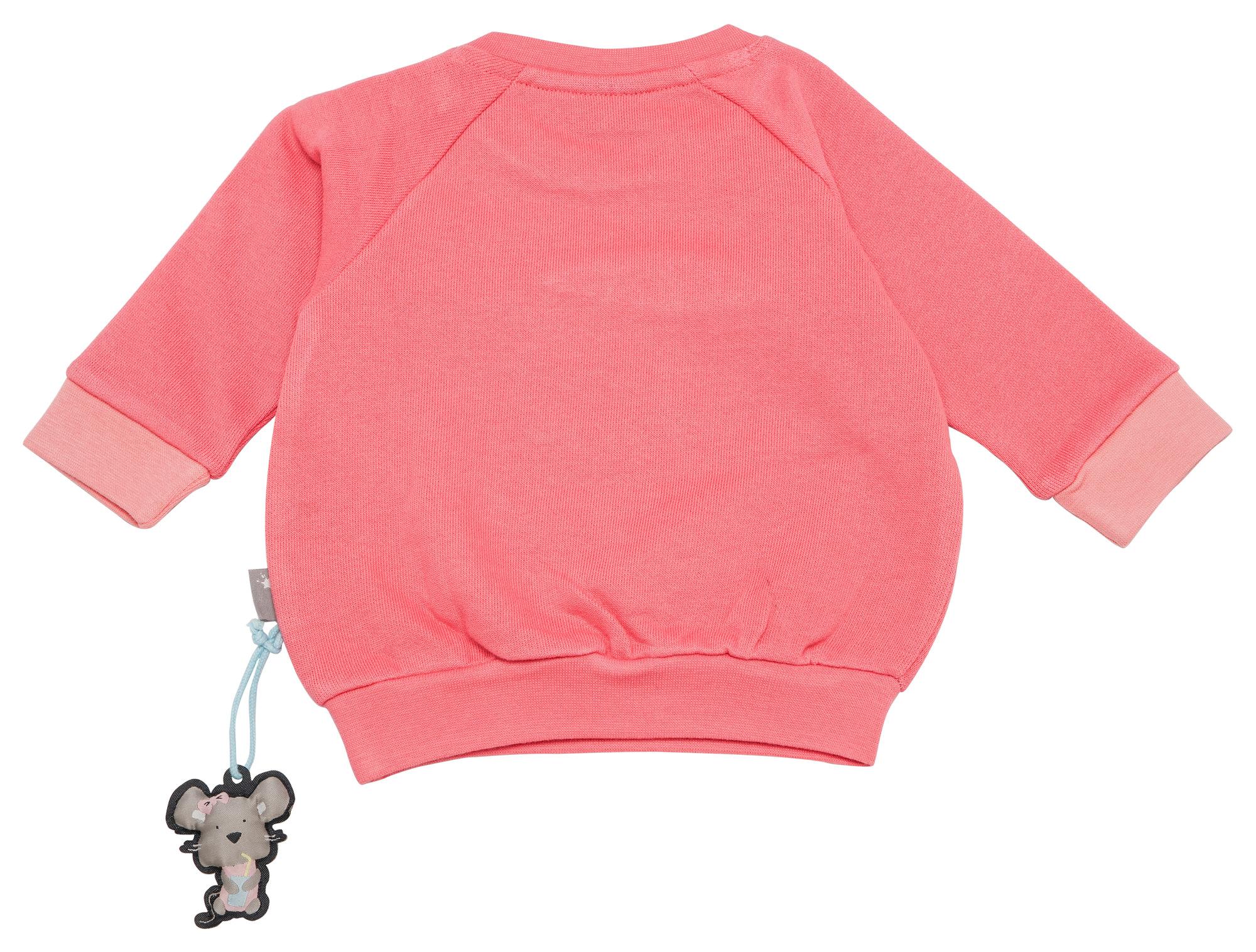 Sigikid Sweatshirt Shirt Langarm Pullover Mädchen Blau Baumwolle Gr.62,68