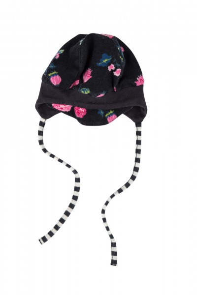 Schirmmütze im Allover Rosen Print