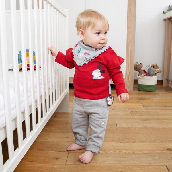 Baby Langarmshirt mit Rüschen