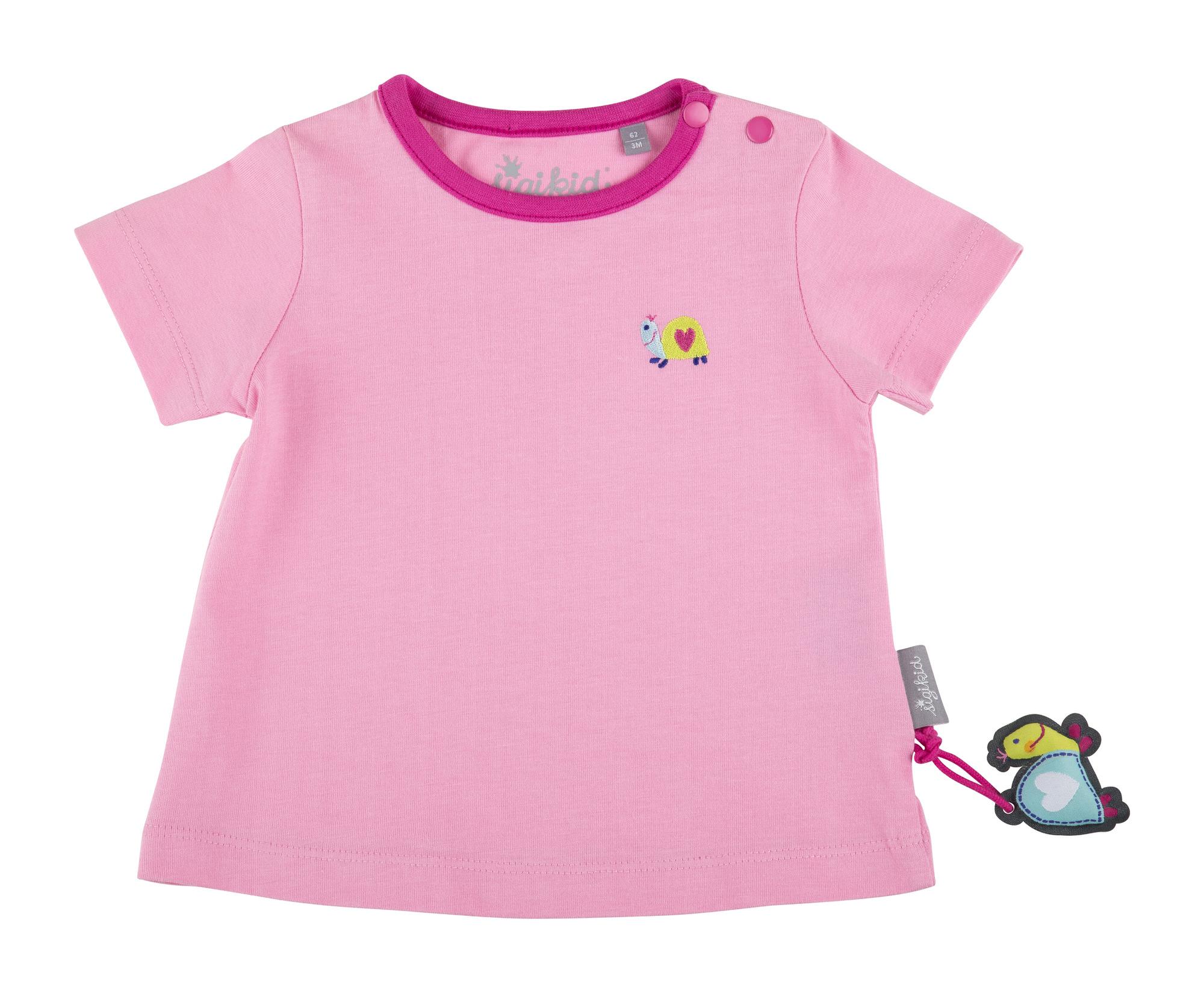Sigikid Oberteil Pullover Sweatshirt Baumwolle Mädchen Rosa Baby Gr.62,68,74
