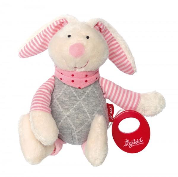 Spieluhr Hase rosa, Urban Baby