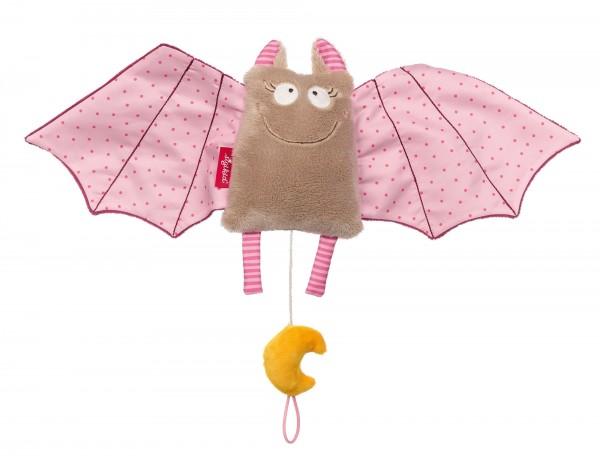 Spieluhr Fledermaus rosa Urban