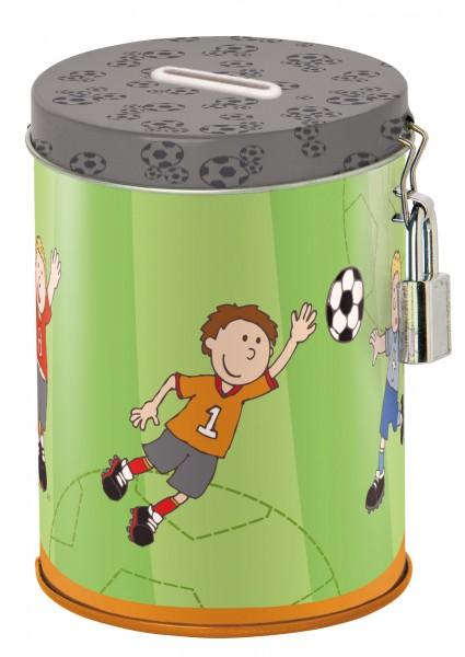 Jungen Spardose mit Fußballer Kily Keeper