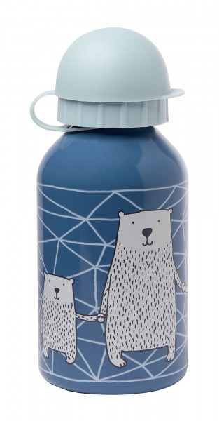 Edelstahl Trinkflasche Eisbär