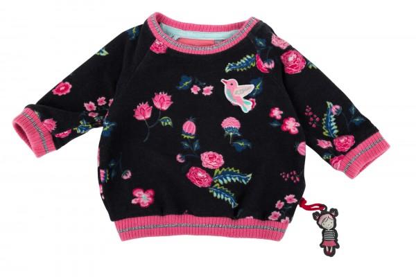 Mädchen Sweat Shirt mit Rosen Print