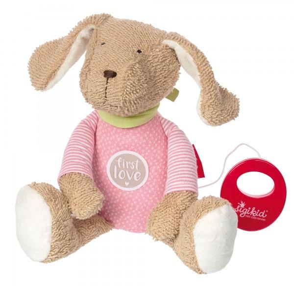 """Baby Mädchen Spieluhr Hund """"Die rosa Fine"""""""