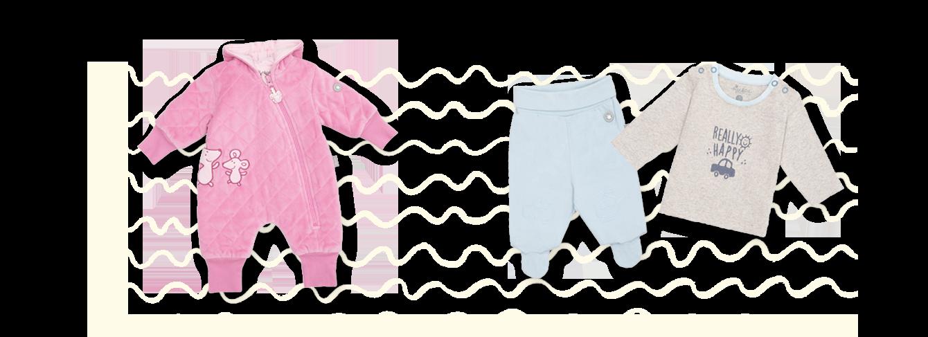Newborn Babykleidung ab Größe 50 bis 68