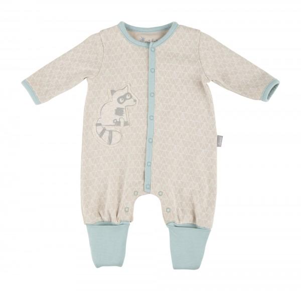 Baby Overall mit Waschbär Motiv