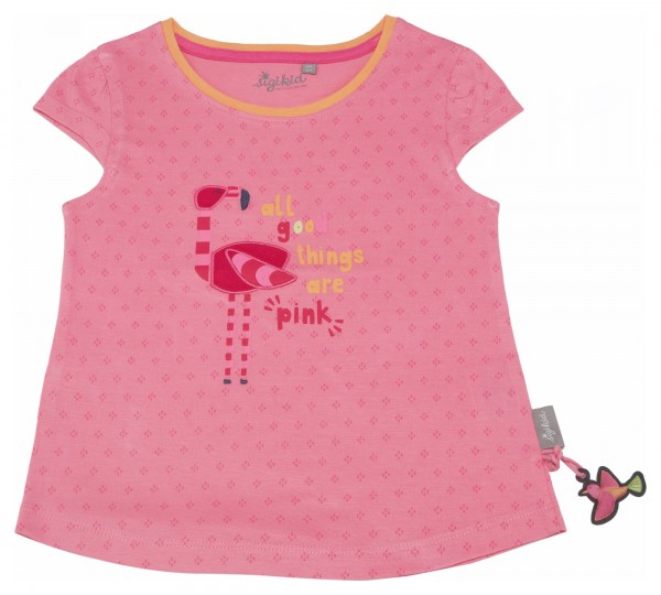 Pinkes Printshirt für den Sommer