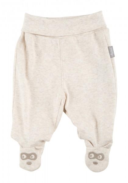 Baby Hose mit Waschbär Füßchen