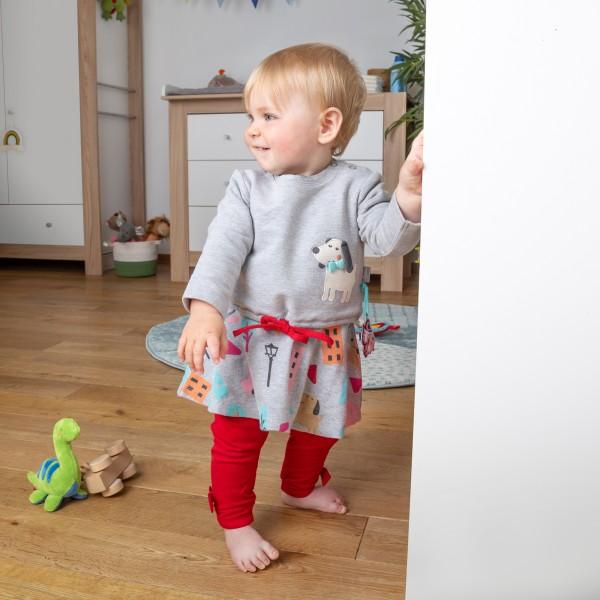 Baby Kleid mit Hündchen Motiv