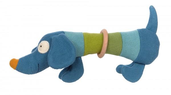 Strick-Greifling Hund