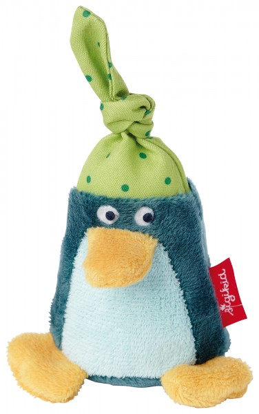 Rassel Pinguin blau Red Stars Collection