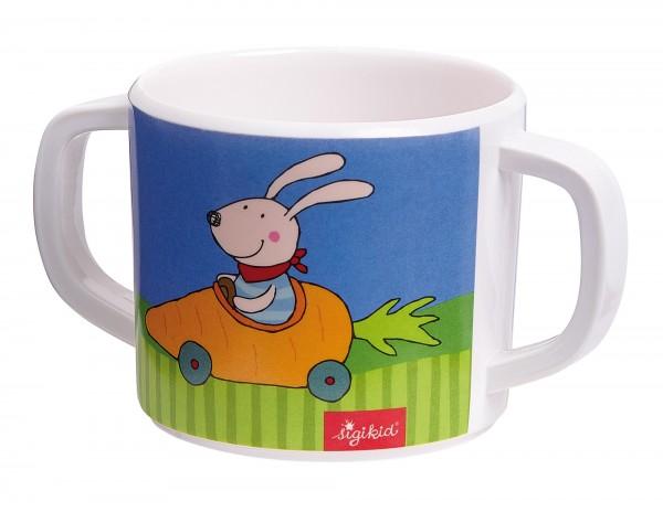 Melamin Tasse Racing Rabbit