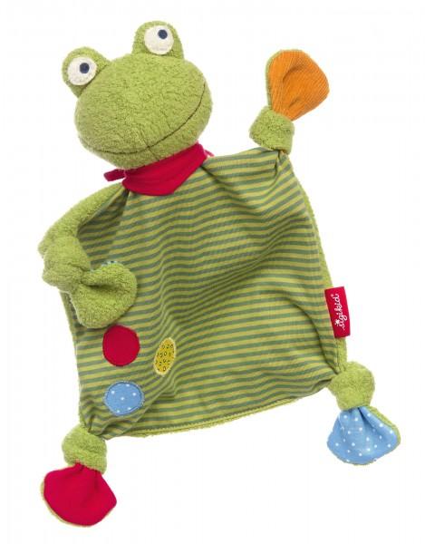 Baby Schnuffeltuch Flecken Frog