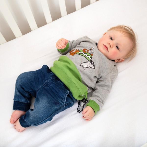 Baby Wendeshirt mit Waldtieren