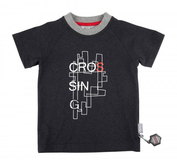 SIGIKID Raglan T-Shirt in dunkelgrau für Jungen