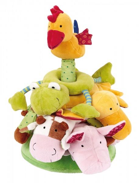 Stapelturm Bauernhof Tiere, PlayQ