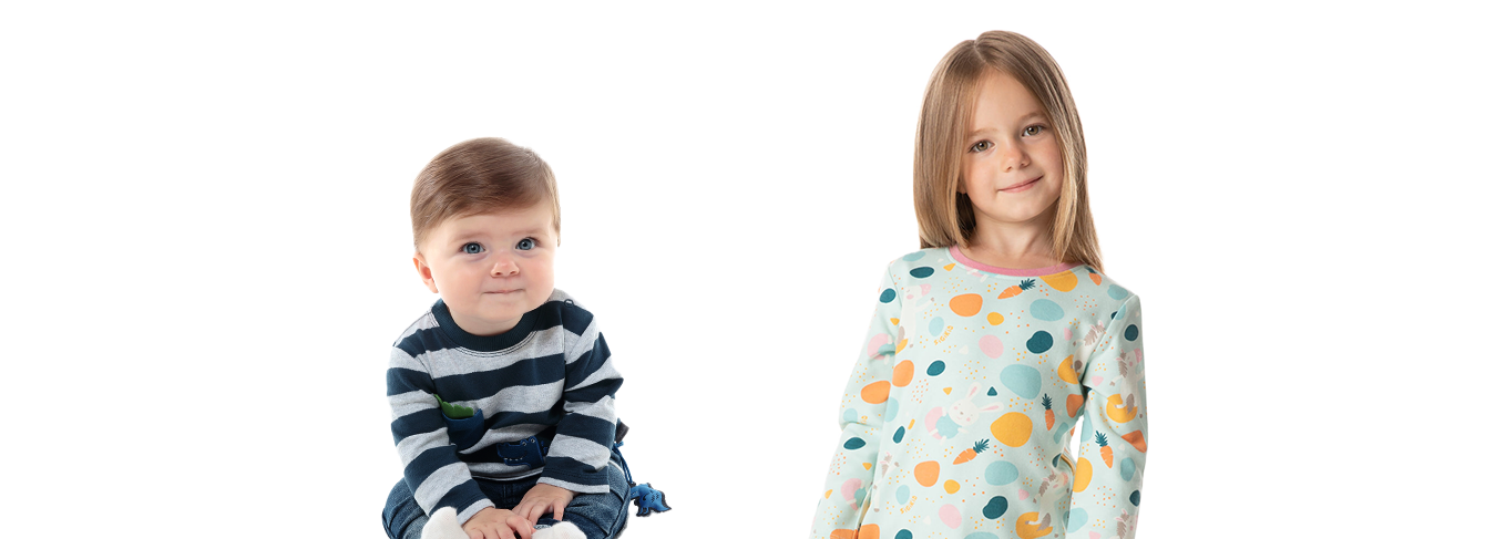 Fashion for kids aged 0 to 8