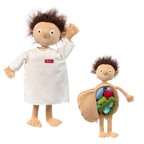 Lern Puppe Erwin der kleine Patient