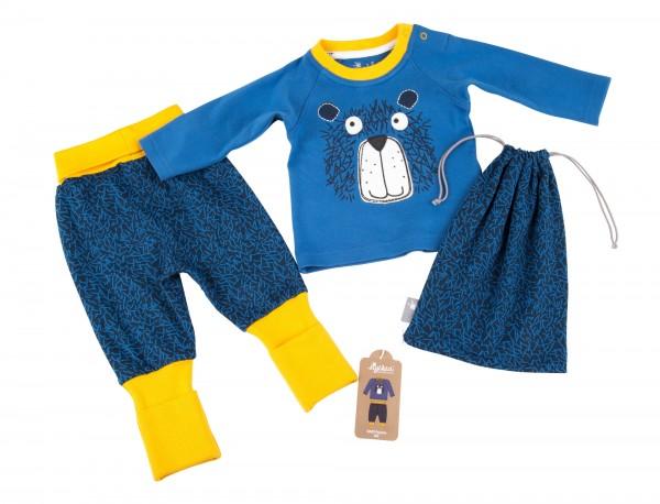 Baby Schlafanzug mit Bär