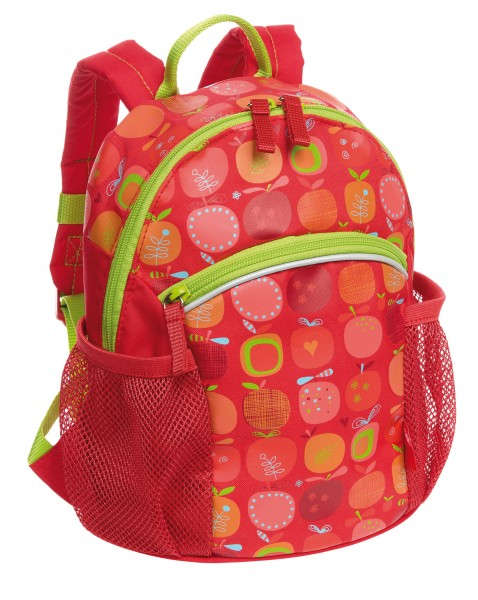 Mädchen Rucksack rot, Serie Apfelherz