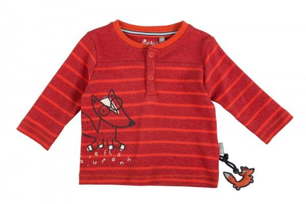 Softes Henleyshirt für Baby Jungen